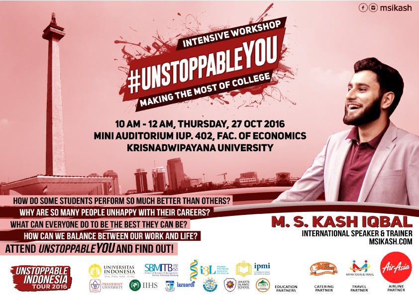 "Seminar ""Unstopable You"""